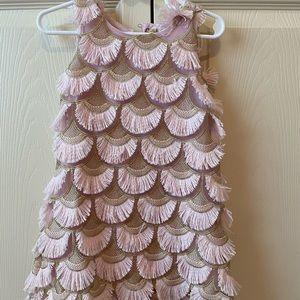 Scalloped Flapper Girl Dress